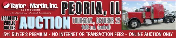 Auction Banner PEORIA, IL - 10/22/2020