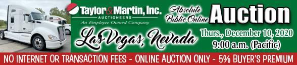 Auction Banner LAS VEGAS, NV - 12/10/20