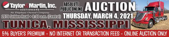 Auction Banner TUNICA, MS - 03/04/2021