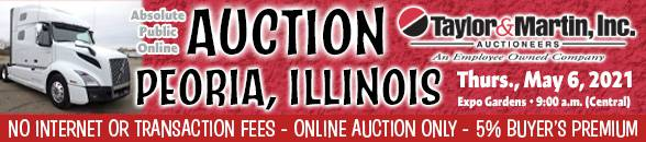 Auction Banner PEORIA, IL - 05/06/2021