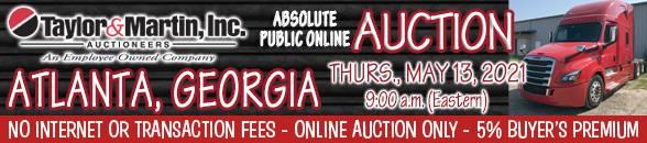 Auction Banner HAMPTON, GA - 05/13/2021