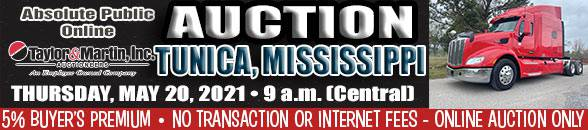 Auction Banner TUNICA, MS - 05/20/2021