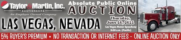 Auction Banner LAS VEGAS, NV - 06/10/2021