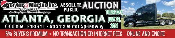 Auction Banner HAMPTON (ATLANTA), GA - 07/29/2021