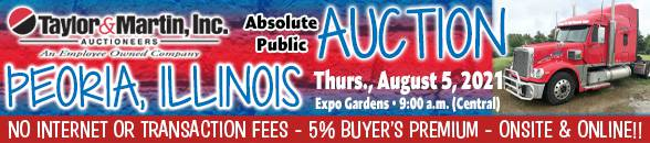 Auction Banner PEORIA, IL - 08/05/2021