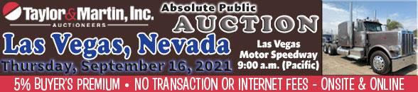 Auction Banner LAS VEGAS, NV - 09/16/2021